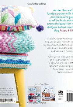 Livres Couvertures de Tunisian Crochet Workshop: The Complete Guide to Modern Tunisian Crochet Stitches, Techniques and Patterns