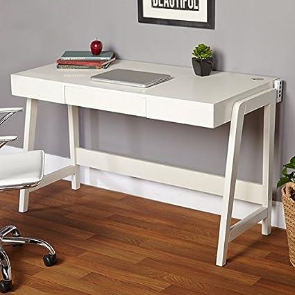 Minimalist Corner Computer Desk