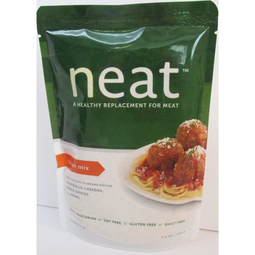 Neat Italian Mix, Vegetarian (Ground Beef Substitute) - 5.5 oz (Pack of 6)