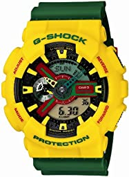 [カシオ]CASIO 腕時計 G-SHOCK ジーショック Rastafarian 【数量限定】 GA-110RF-9AJF メンズ