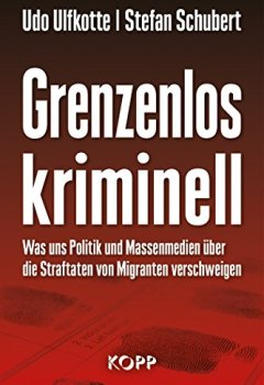 Buchdeckel von Grenzenlos kriminell: Was uns Politik und Massenmedien über die Straftaten von Migranten verschweigen