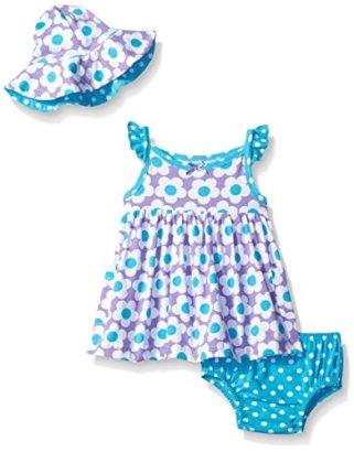 Gerber-Girls-Baby-3-Piece-Dress-Set