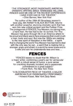 Livres Couvertures de Fences