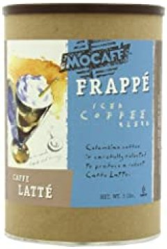 MOCAFE Frappe Caffe Latte, Ice Blended Coffee, 3-Pound Tin
