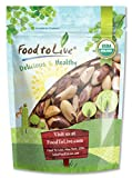 Food To Live ® Organic Brazil Nuts (Raw, No Shell) (1 Pound)