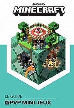 Livres Couvertures de Minecraft, Le Guide Officiel Des PVP Mini Jeux
