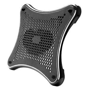 """Color del producto: Negro Dimensiones (Ancho x Profundidad x Altura): 330 x 284 x 22 mm Diámetro de ventilador: 80 mm Número de ventiladores incluidos: 2 piezas Peso: 700 g Tamaño máximo de pantalla: 406.4 mm (16 """") USB con suministro de corriente: Si"""