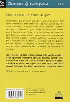 Livres Couvertures de Les Contes du griot : les contes des veillées africaines