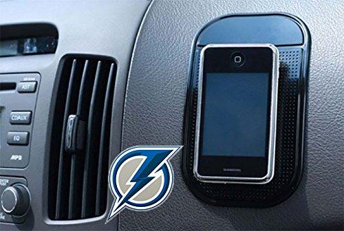 Blue Lightning Anti Slip Radar Detector Dash Mat Vehicles