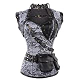 Lover-Beauty's TenetLover-Beauty hope every girl could have a slimmer figure that they ever dreamed.Lover-Beauty Women's Steel Boned Overbust Steampunk Bustiers Corsets Costumes which could help you keep a good shape and you will be so cool w...