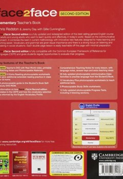 Livres Couvertures de face2face Elementary Teacher's Book with DVD