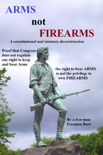 ARMS NOT FIREARMS