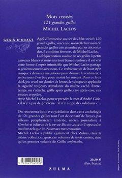 Livres Couvertures de Mots croisés : 121 grandes grilles