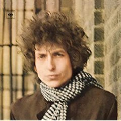 Bob Dylan Blonde on Blonde cover