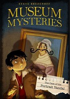 The Case of the Portrait Vandal (Museum Mysteries) by Steve Brezenoff| wearewordnerds.com
