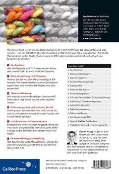 Livres Couvertures de Delta-Management in SAP NetWeaver BW
