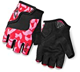 Giro Bravo Jr Glove - Kid's Pink/Black Medium