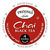 Twinings Chai Tea, Keurig K-Cups, 24 Count (Pack of 4)