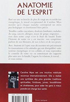 Livres Couvertures de Anatomie de l'esprit : Le sens psychologique et énergétique des maladies