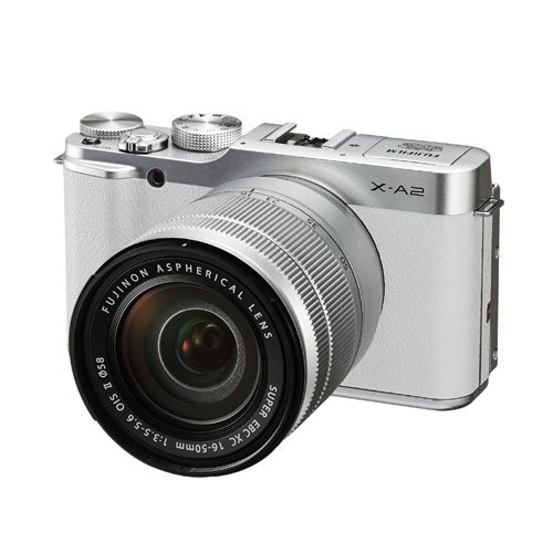 Fujifilm X-A2 w/ XC16-50mm F3.5-5.6II Kit White