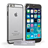 Yousave Accessories iPhone 6 Case Crystal Clear Hard Cover