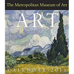 The Metropolitan Museum of Art 365 days Gallery 2011 Desk Calendar