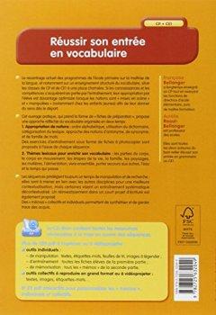 Livres Couvertures de Réussir son entrée en vocabulaire (+ CD-Rom)