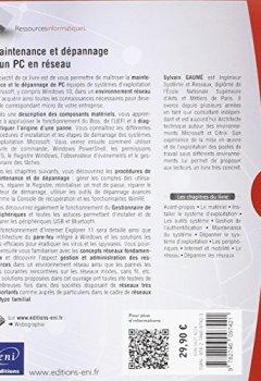 Livres Couvertures de Maintenance et dépannage d'un PC en réseau (5ième édition)