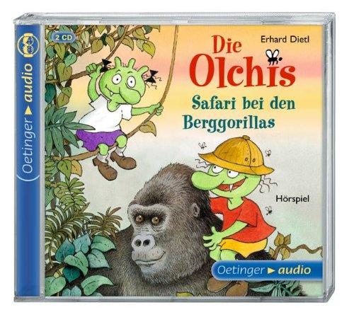 Die Olchis - Safari bei den Berggorillas (Oetinger Audio)