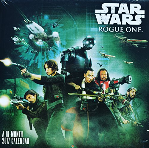 16-Month 2017 Star Wars: Rogue One Wall Calendar