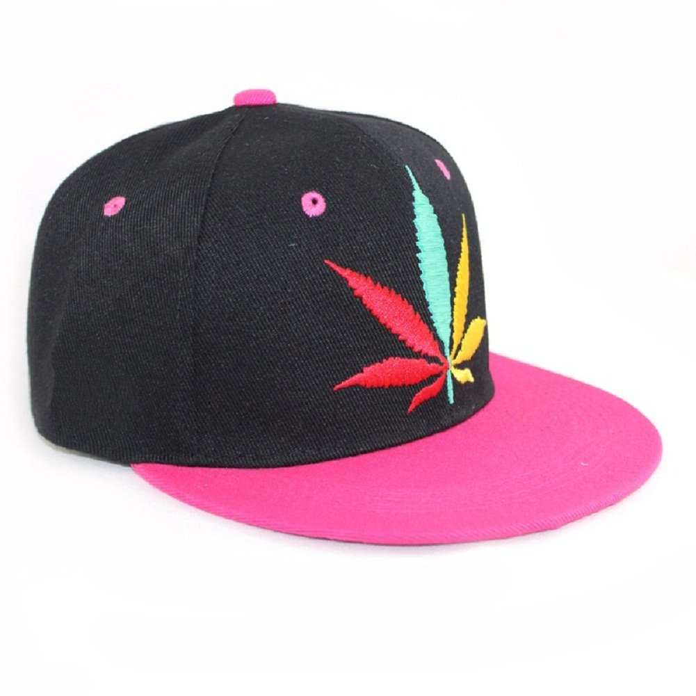 Hip Hop Adjustable Weed Marijuana Snapback Cap Hat Baseball Caps Unisex Adult