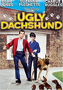 "Cover of ""The Ugly Dachshund"""