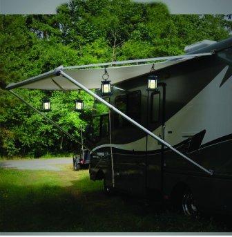Nature Power 21090 Solar Outdoor LED Umbrella Light