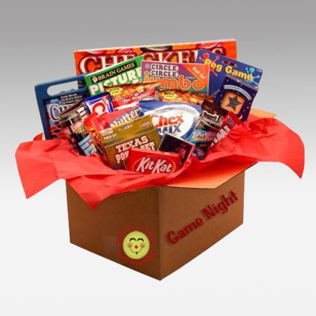board game gift basket