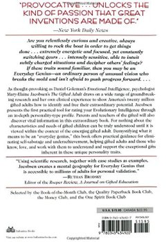 Livres Couvertures de The Gifted Adult: A Revolutionary Guide for Liberating Everyday Genius(tm)
