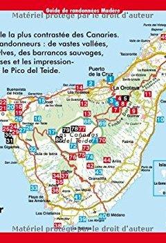 Livres Couvertures de Ténérife : Les 70 plus belles randonnées entre mer et montagne, GPS