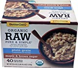 Betters Oats Organic Instant Raw Oatmeal 58.40, 58.40 Ounce