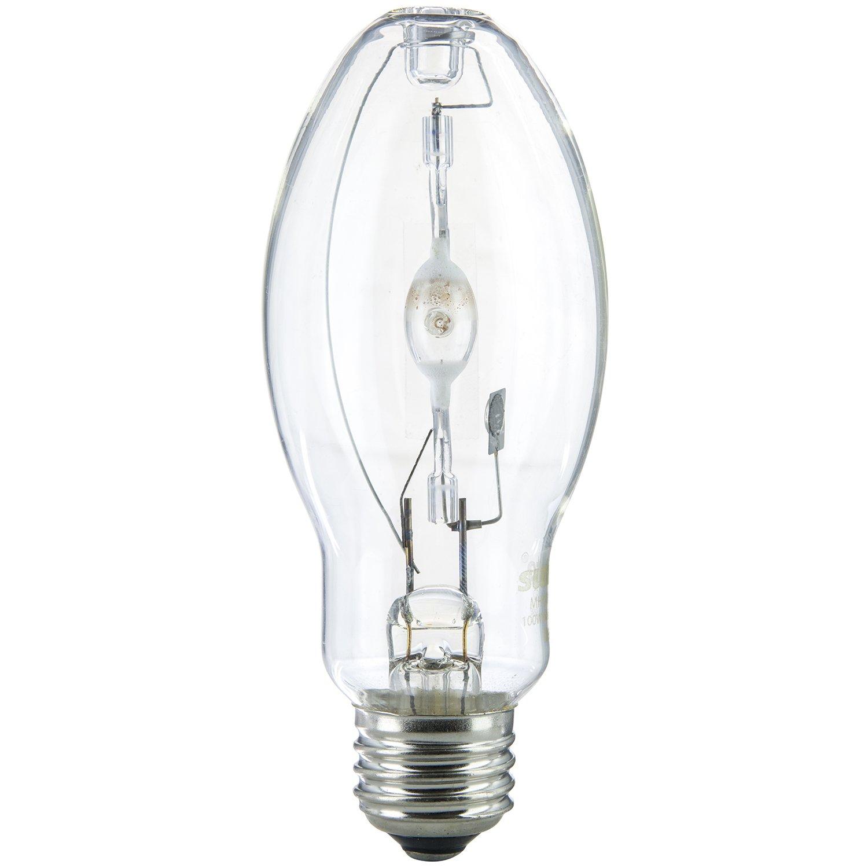 Sunlite Mh100 U Med 100 Watt Metal Halide Bulb Medium Base Clear New Free S