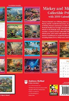 Livres Couvertures de Disney Dreams Collection Mickey and Minnie 2019 Calendar: Includes Collectible Print