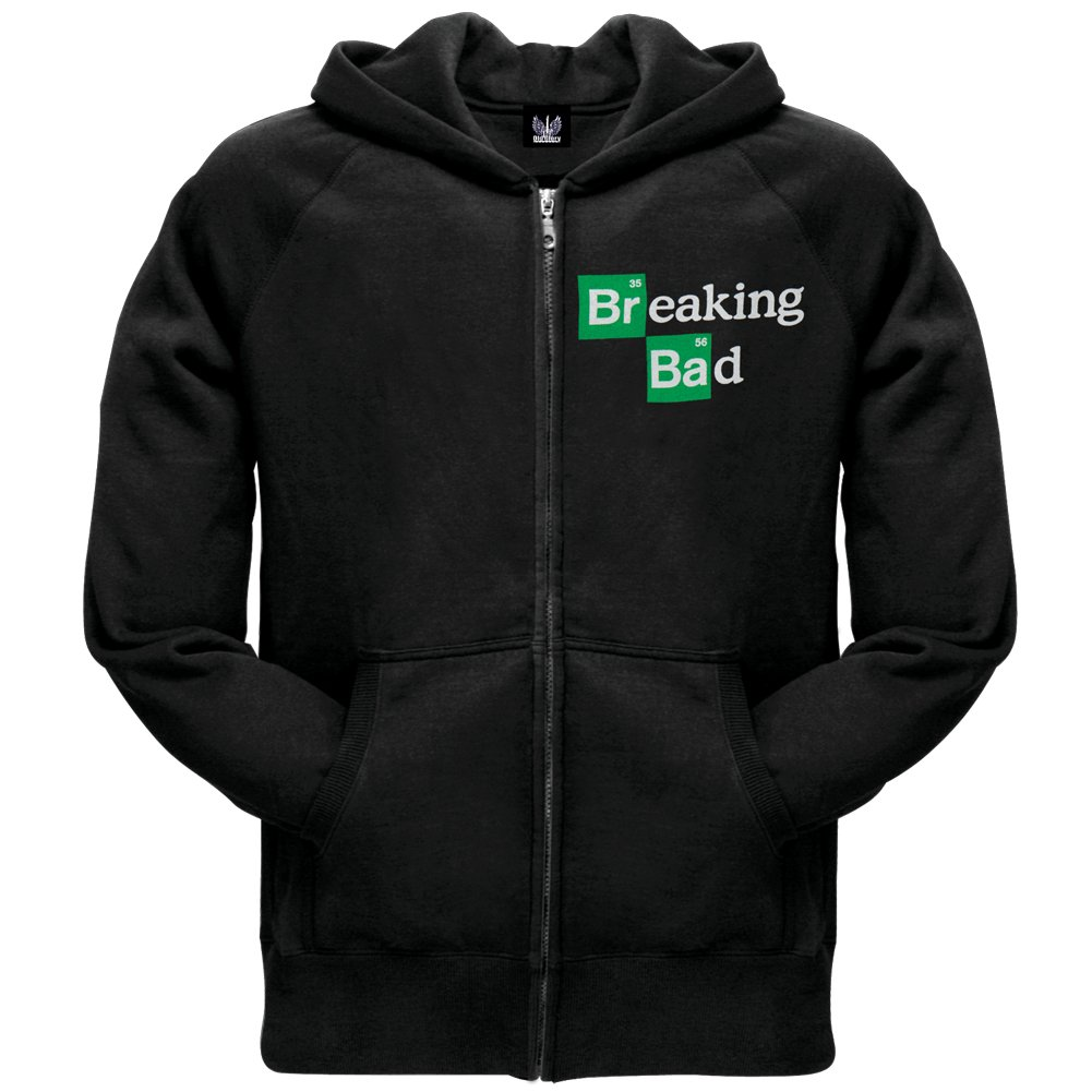 Breaking Bad - Heisenberg Cross Zip Hoodie