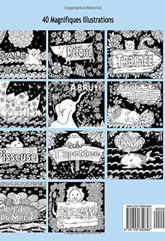 Telecharger Animaux, Fleurs Et Injures Sur Un Fond Noir: Anti-Stress Livre De Coloriage Pour Adultes Avec Gros Mots, Insultes Et Jurons de relaxation4.me