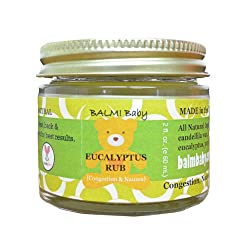 BALM! Baby Eucalyptus Rub for Chest Congestion and Stuffy Nose Relief