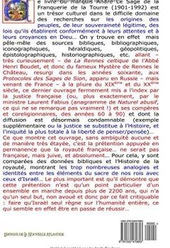 Livres Couvertures de Ascendances davidiques des rois de France: Marquis André Le Sage de la Franquerie de la Tourre