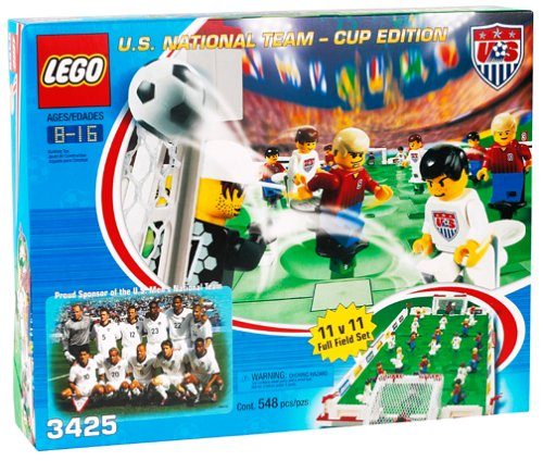 Lego soccer u. S. National team – cup edition (3425) | best sellers.