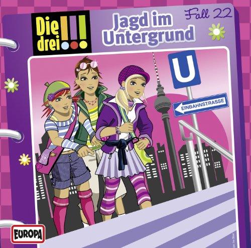 Die drei !!! (22) - Jagd im Untergrund (Europa)