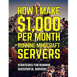 How I Make $1,000 Per Month Running a Minecraft Server: Strategies for Running a Successful Server