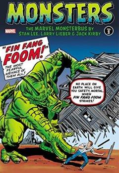 Livres Couvertures de Monsters Vol. 2: The Marvel Monsterbus by Stan Lee, Larry Lieber & Jack Kirby