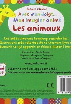 Livres Couvertures de Avec mon doigt... Mon imagier animé - Les animaux
