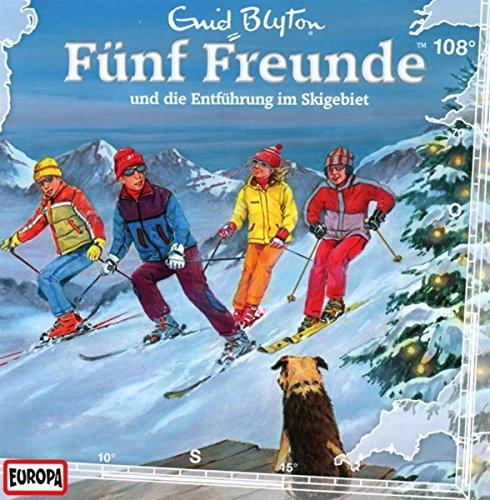 Fünf Freunde (108) und die Entführung im Skigebiet (Europa)