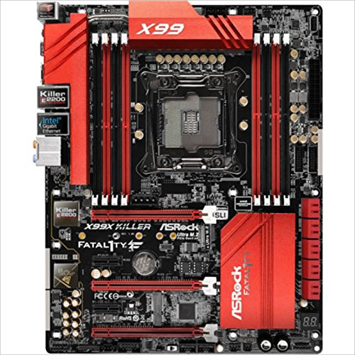 ASRock アスロック マザーボード X99 ゲーミング ATX SATA3 USB3 M.2 X99X Killer